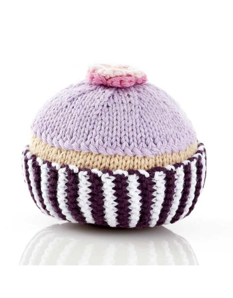 Pebble Cupcake Rattle