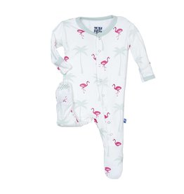 Kickee Pants Flamingo Footie