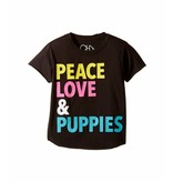 Chaser Peace Love & Puppies Tee
