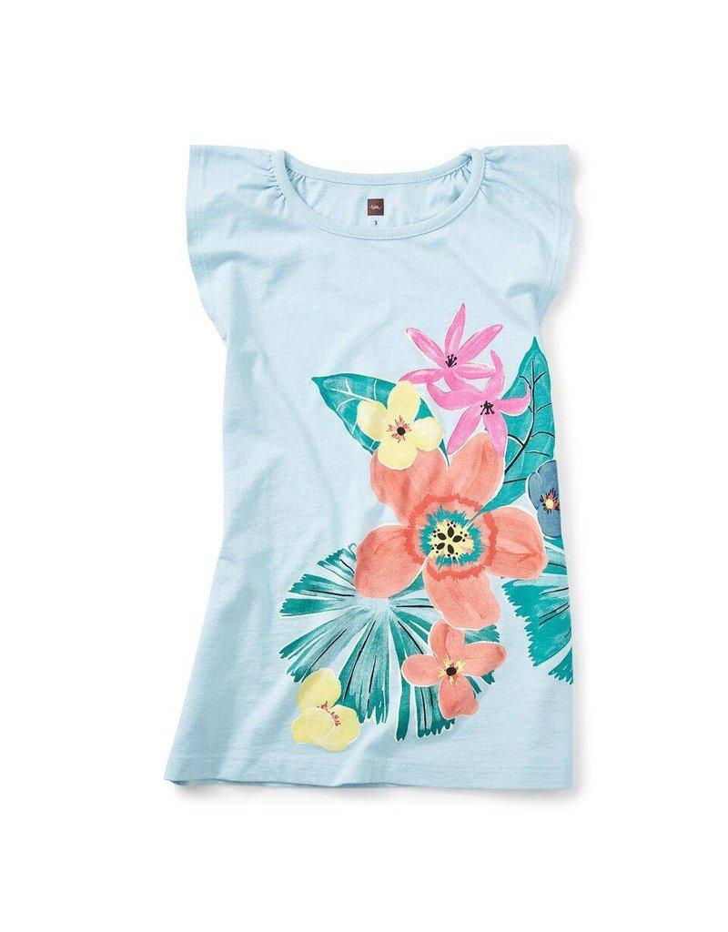 Tea Collection Fan Palm Graphic Dress
