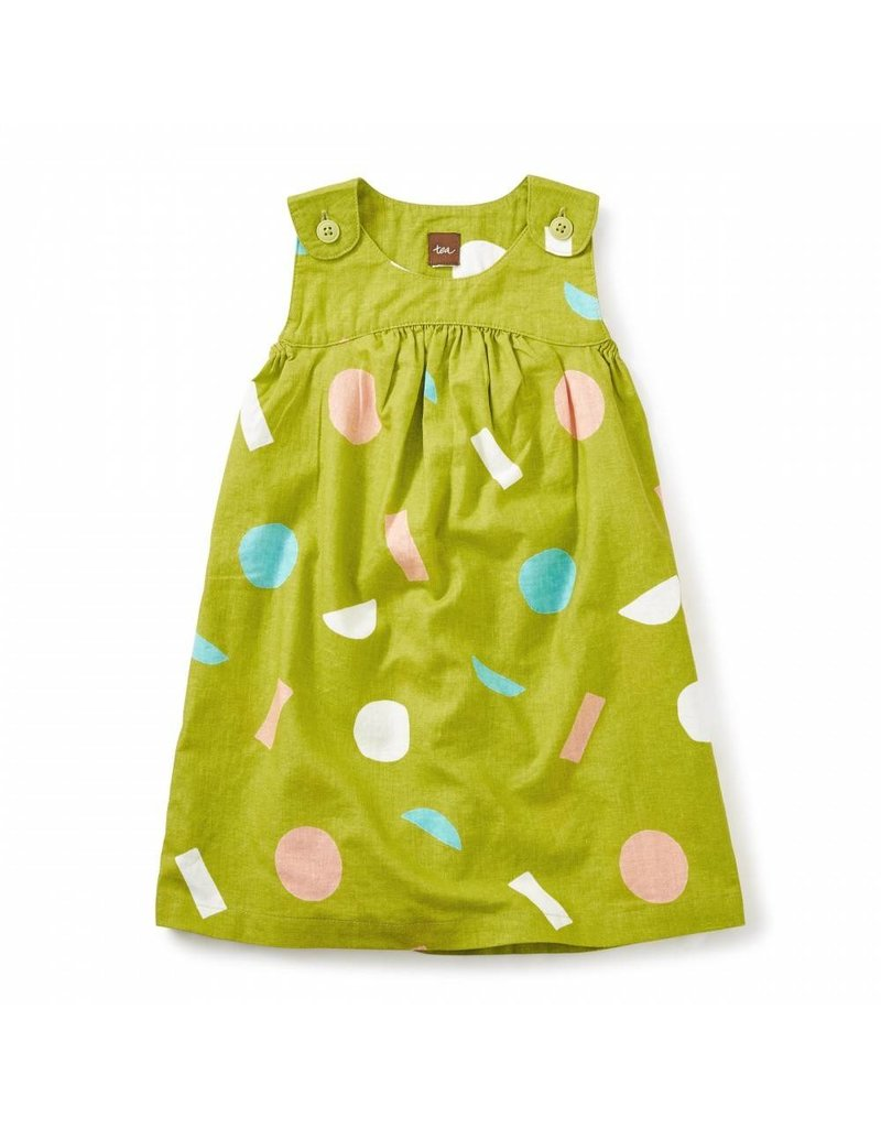 Tea Collection Jackfruit Hi-Lo Dress