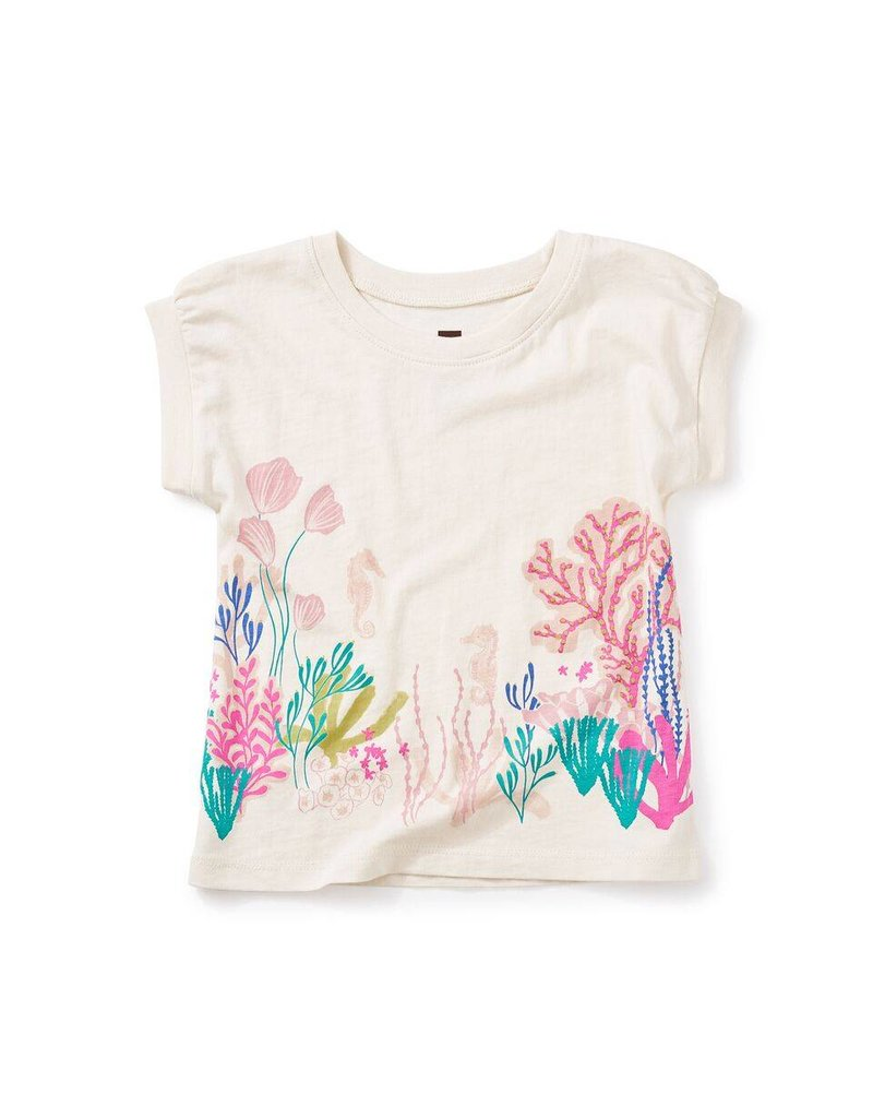 Tea Collection Sea Anemone Graphic Tee