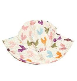 Pink Chicken Chicken Sun Hat