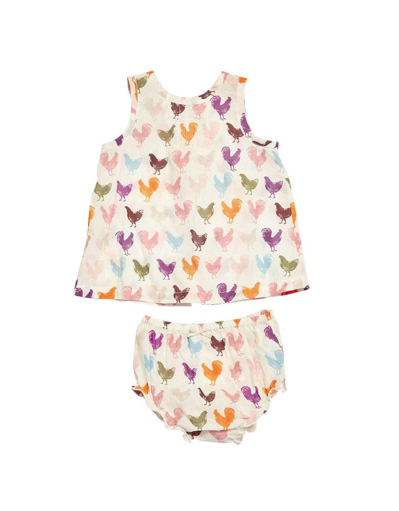 Pink Chicken Jaipur 2 Pc Set