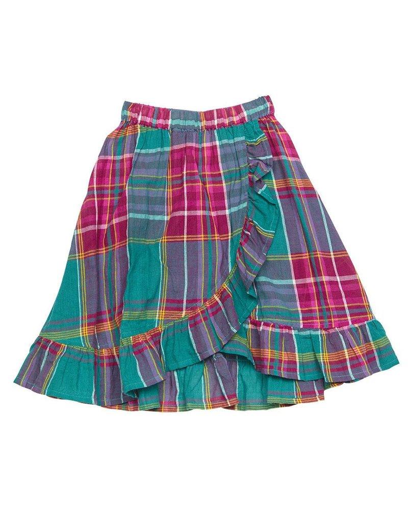 Orange Heat Portia Skirt