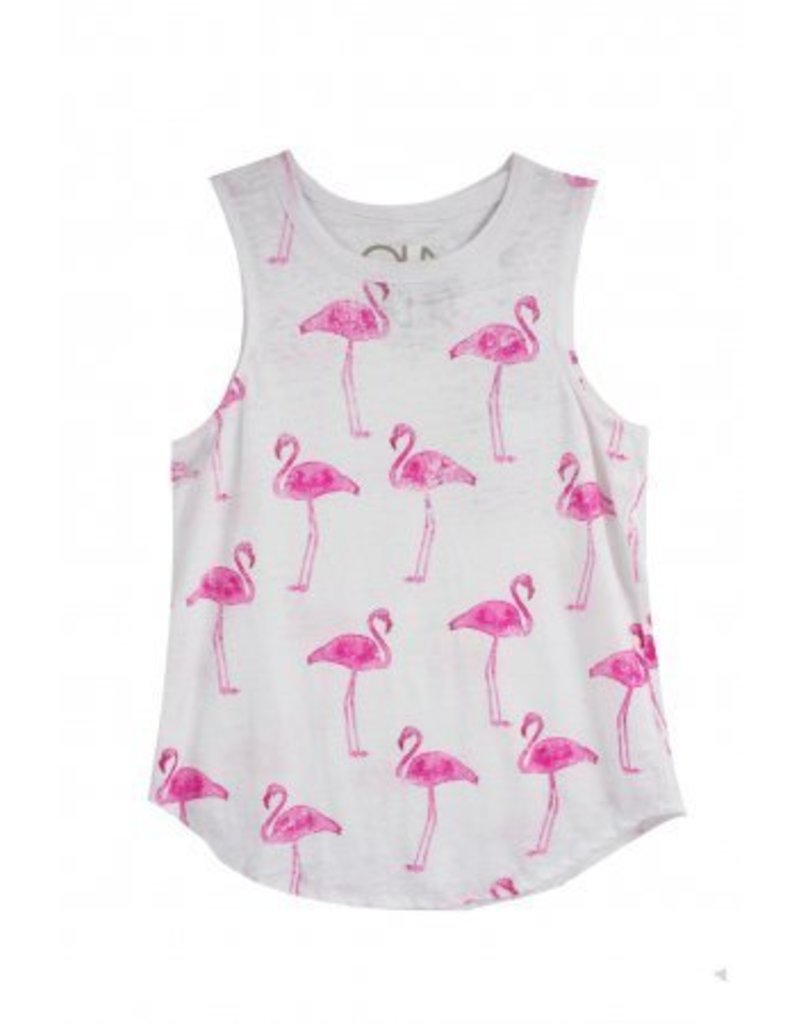 Chaser Pink Flamingos Tee