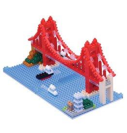 Schylling Golden Gate Bridge Nano Block