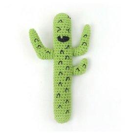 Little Linen Company Crazy Cactus Rattle
