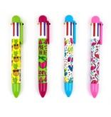 International Arrivals 6 Click Ink Pen- Summer Fun
