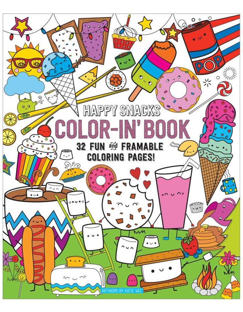 International Arrivals Color's Book - Happy Snacks