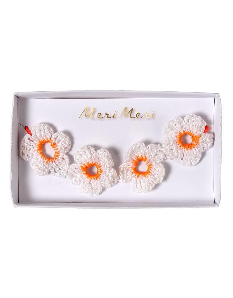 Meri Meri Bracelet- Crochet Daisy