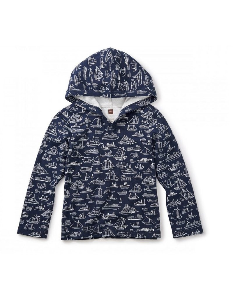 Tea Collection Sail Away Happy Hoodie