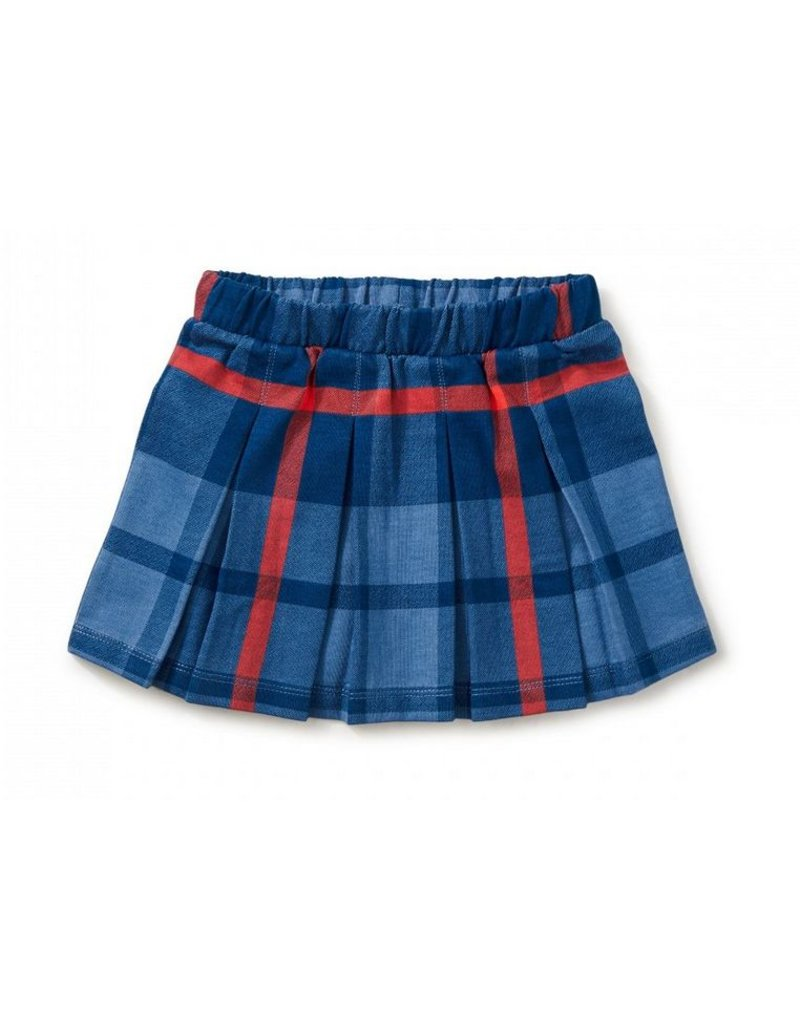 Tea Collection Tartan Pleated Skirt
