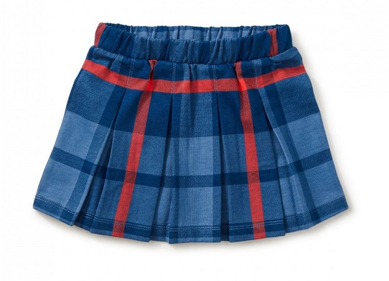 Tea Collection Tartan Pleated Skirt