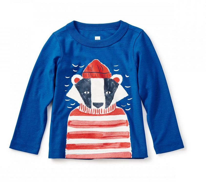 Tea Collection Salty Badger Graphic Tee