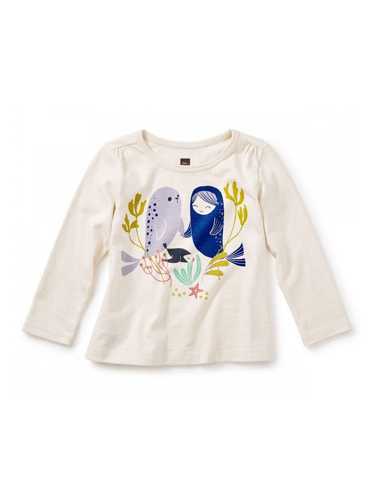 Tea Collection Selkie Baby Graphic Tee