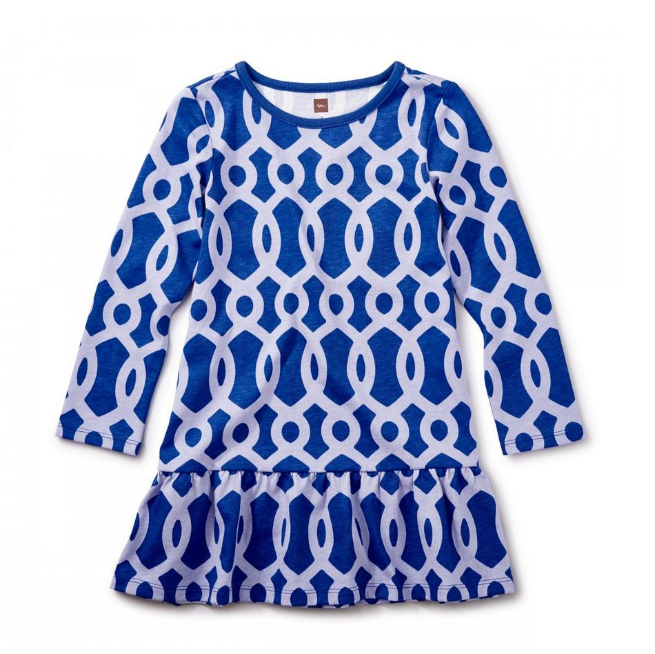 Tea Collection Macha Ruffle Dress