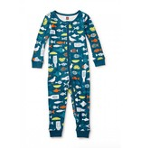Tea Collection Fish & Chips Baby Pajamas