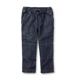 Tea Collection Indigo Canvas Explorer Baby Pants