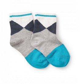 Tea Collection Pool Argyle Socks