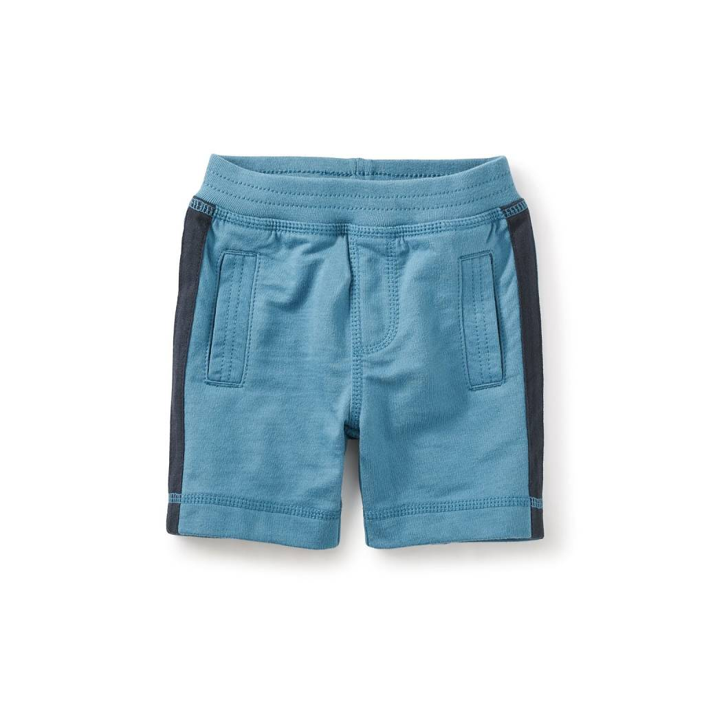 Tea Collection Side Stripe Baby Shorts