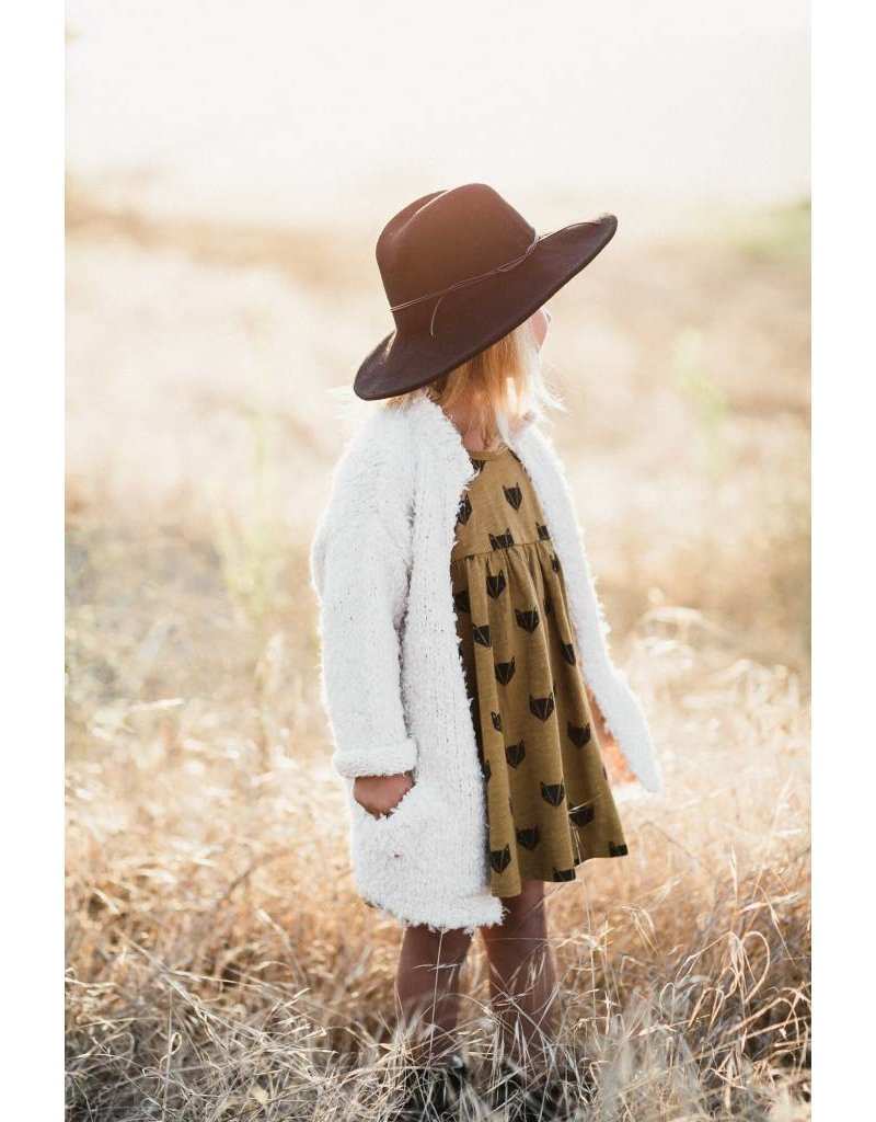 Rylee & Cru Furry Sweater