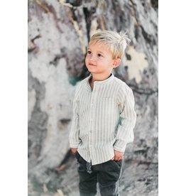 Rylee & Cru Stripe Pocket Shirt