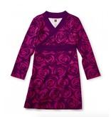 Tea Collection Rennie Rose Wrap Neck Dress