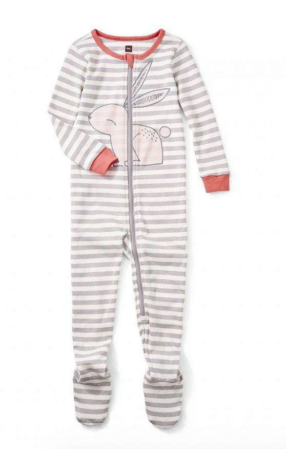 Tea Collection Rabaid Footed Pajamas