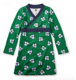 Tea Collection Kelvingrove Wrap Neck Dress