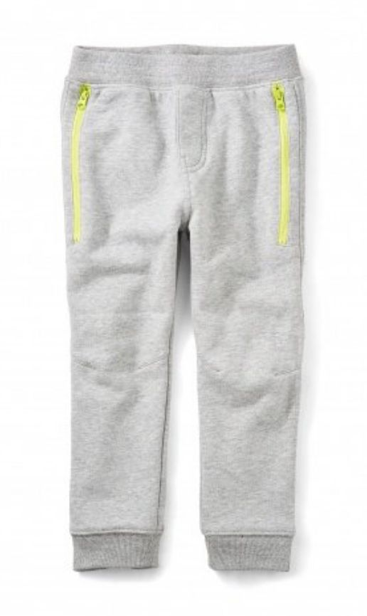 Tea Collection Heather Grey Zip Pocket Joggers