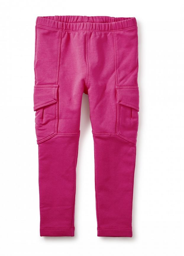 Tea Collection Fuchsia French Terry Cargos