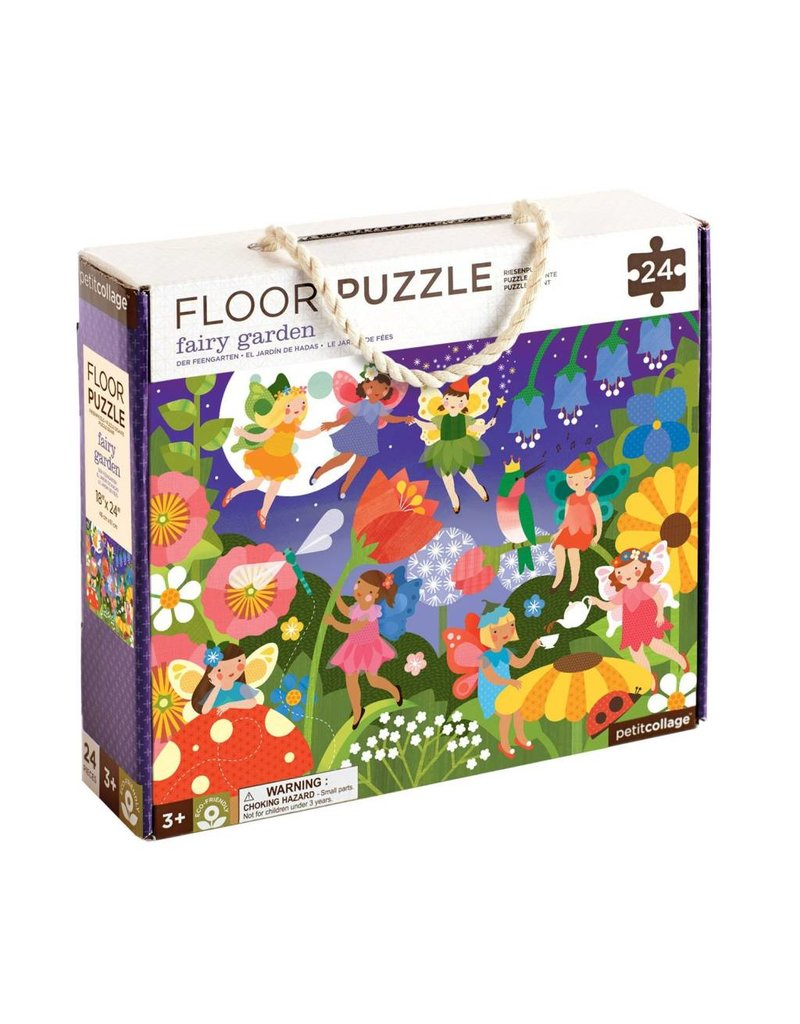 Petit Collage Floor Puzzle - Fairy Garden