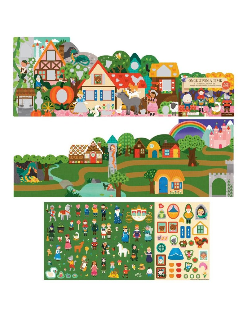 Petit Collage Sticker Activity Set - Fairy Tales