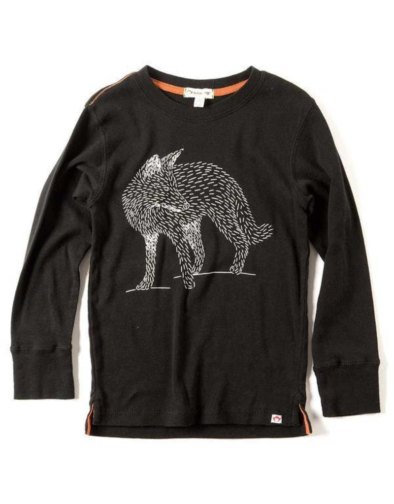 Appaman Fox Tee - Black