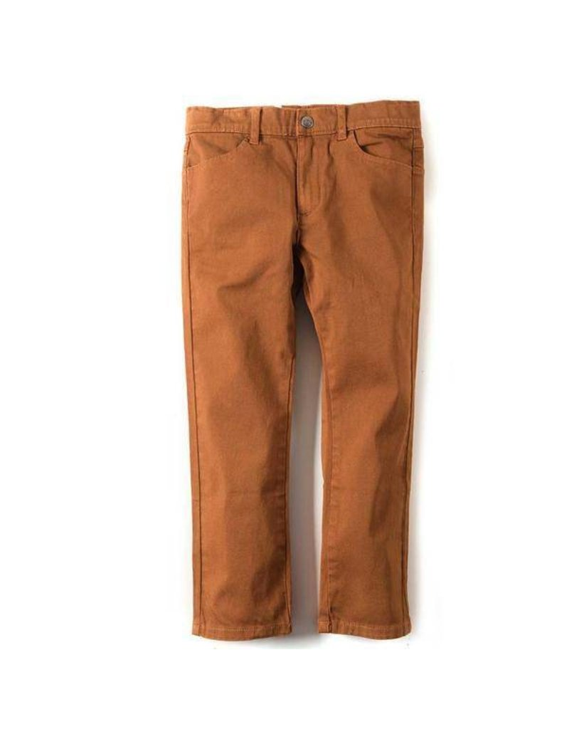 Appaman Skinny Twill Pant - Leather Brown