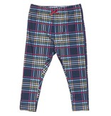 Pink Chicken Tartan Baby Leggings