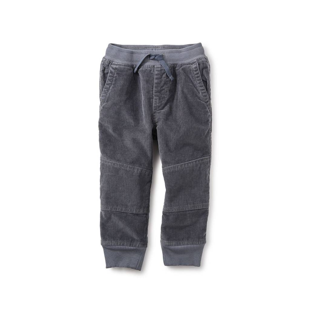 Tea Collection Blue Corduroy Baby Joggers
