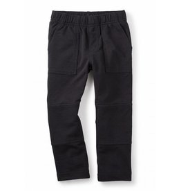 Tea Collection Black French Terry Playwear Pants