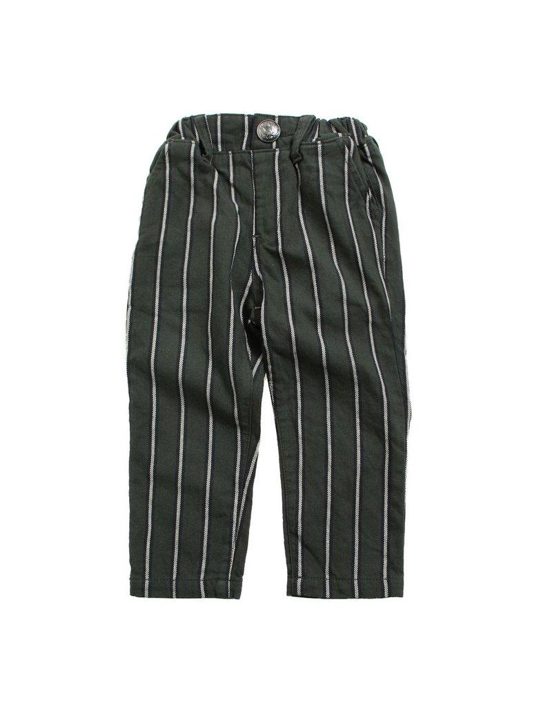 Bit'z Kids Green Stripe Baby Pants