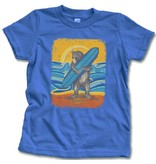 SF Mercantile Surf Bear Blue Tee