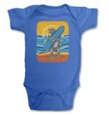 SF Mercantile Surf Bear Blue Onesie