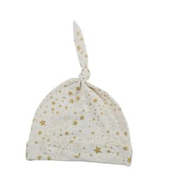Egg Baby Knot Hat - Gold