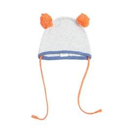 Egg Baby Pom Pom Hat - Orange