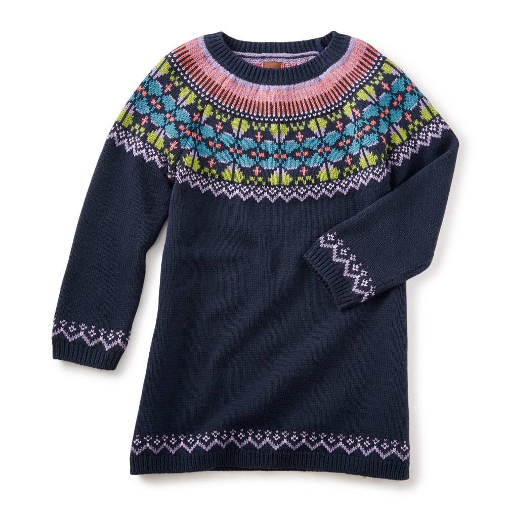 Tea Collection Sheep Rock Sweater Dress
