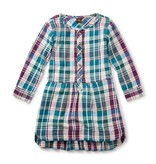 Tea Collection Applecross Flannel Shirtdress