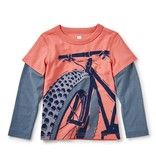 Tea Collection Fat Bike Graphic Tee