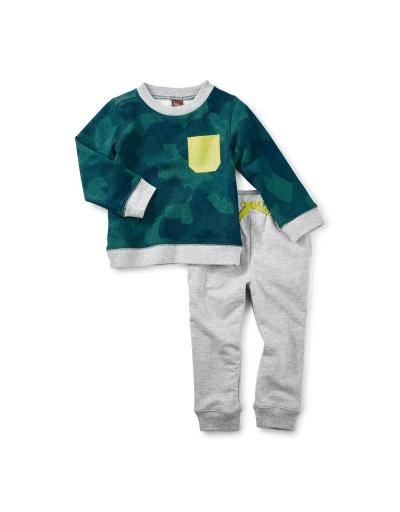 Tea Collection Inverness Baby Outfit