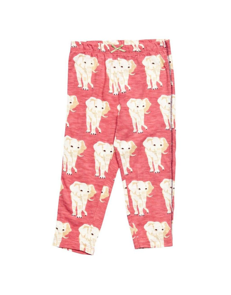 Pink Chicken Elephant Legging