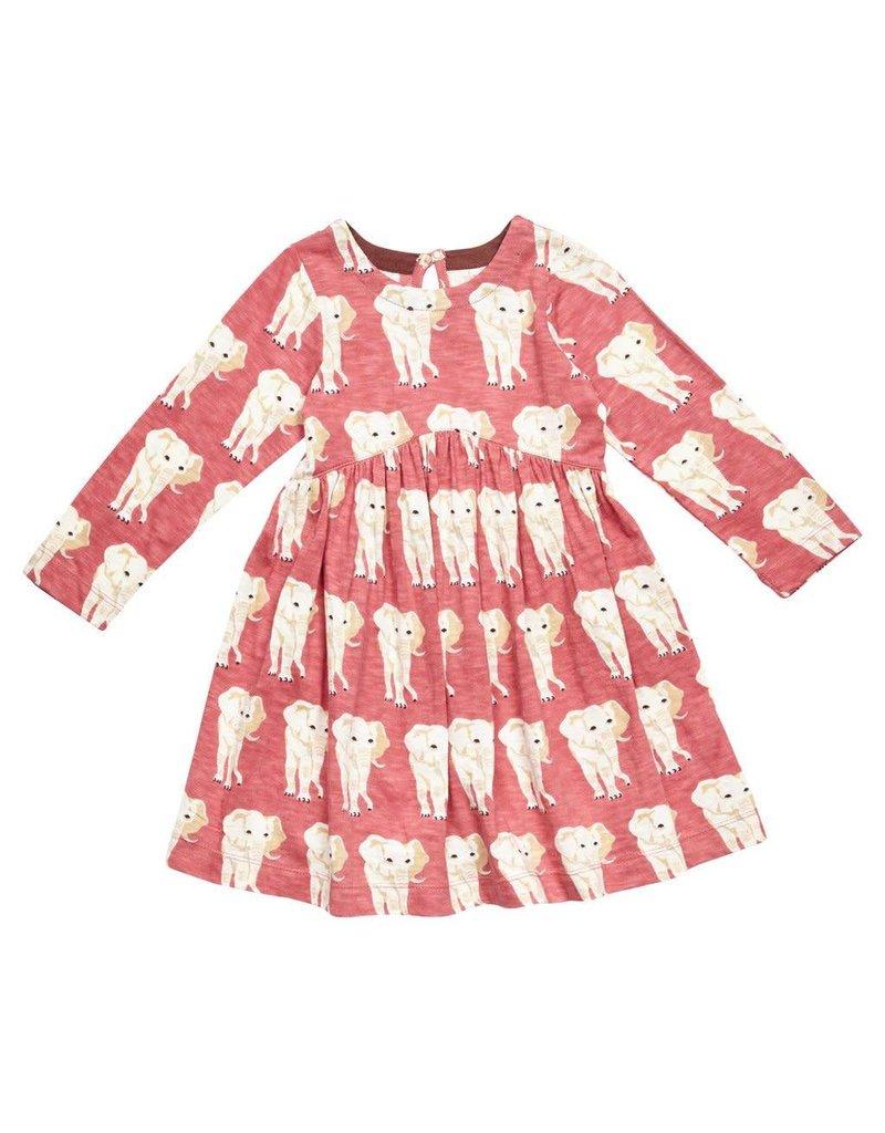Pink Chicken Lousie Elephant Dress